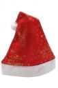 Womens Snowflake Patterned Christmas Pom Pom Beanie Red