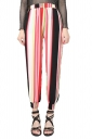 Womens Elastic Printed Loose Leisure Pants Watermelon Red