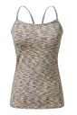 Womens Spaghetti Straps Slimming Cut Out Camisole Top Green