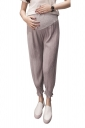 Loose Elastic Pants For Pregnant Women Gray
