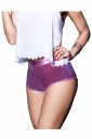 Womens Sexy Skinny High Waisted Plain Liquid Mini Shorts Pink
