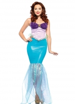 Adult Womens Mermaid Princess Costume