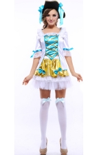 Green Sweet Girls Halloween Pirate Costume