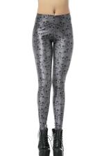 Black Sexy Ladies Skinny Skeleton Leggings