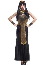 Black Retro Ladies Egyptian Queen Halloween Costume