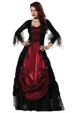 Ruby Sexy Elegant Womens Halloween Evil Queen Costume