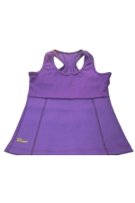 Womens Slimming Neoprene H Back Tank Corset Purple