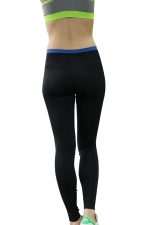Womens High Waist Ankle Length Yoga Sports Leggings Black