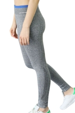 Womens High Waist Ankle Length Yoga Sports Leggings Gray