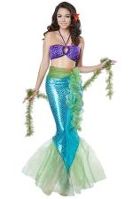 Sexy Iridescent Mermaid Costume