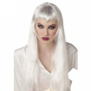Long White Witch Wig