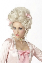 Marie Antoinette Party Wig Hair Synthetic Halloween Wigs For Women