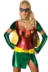 Womens Sexy Robin Halloween Costume