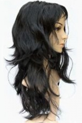 Black Cute Cosplay Ladies Curly Hair Wig