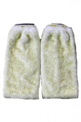 Green Fashion Womens Faux Fur Rabbit Hair Winter Leg Warmers