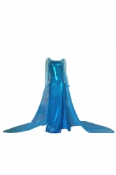 Turquoise Sexy Adult Ladies Frozen Elsa Halloween Fairytale Costume