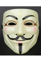 Beige Womens Mallku Aragon Ball V Face Halloween Movie Mask