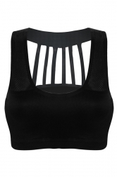 Womens Ventilate Sports Bra for Running Black