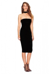 Womens Sexy Sleeveless Backless Halter Clubwear Dress Black