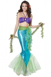 Sexy Iridescent Mermaid Costume