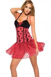 Sexy Polka Dot Ladybug Costume