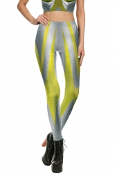 Ultraman Halloween Costume Leggings Silvery