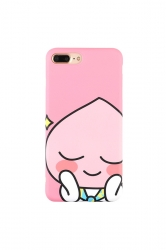 Pink Washable Cartoon Fart Peach Printed Soft TPU Case for iPhone