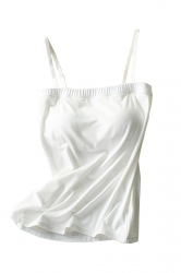 Spaghetti Straps Push Up Plain Camisole Tube Top White