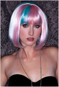 Color Fashion Girl Wigs