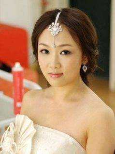 India Princess Super Flash Rhinestone Frontlet