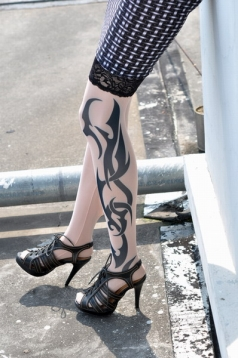 Indiana Tribal Inspired Tattoo Stockings