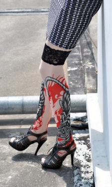Ferocity Tattoo Stockings
