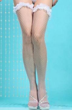 Lace Fishnet Stockings