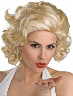 Short Marilyn Monroe Blond Wig