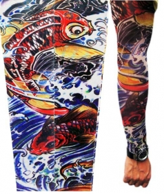 Koi Fish Tattoo Sleeves