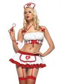 Hot and Cute Nurse Costume