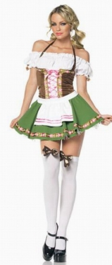 Adult Gretchen Oktoberfest Beer Maid Costume