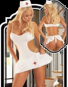 Cut Out Halloween Nurse Costume