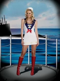 Adult Sailor Girl Halloween Costume