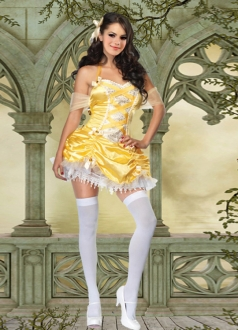 Yellow Indian Princess Dress