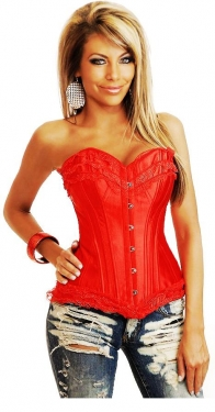 Red Fashion Women Corset