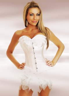 White Fashion Women Corset