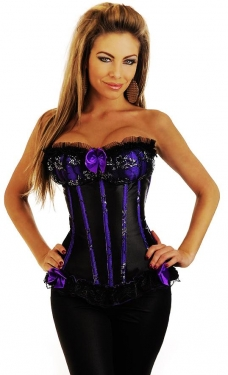 Bow Lace Corset