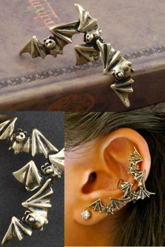Bat Wrap Ear Cuff