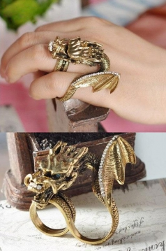 Huge Dragon Ring