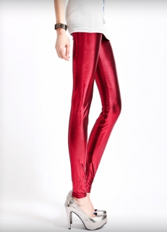 Sexy Trendy Metallic Leggings