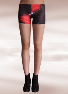 Red Starry Galaxy Short