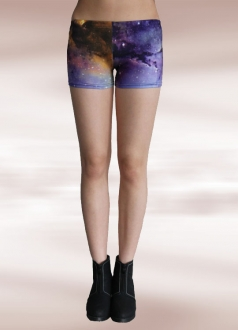 Light Purple Nebula Galaxy Short