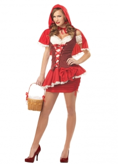 Chic Little Red Riding Hood Ladies Halloween Costume