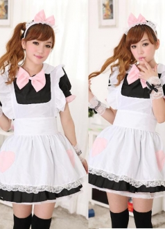 Sweet Girls Classic Halloween Maid Costume